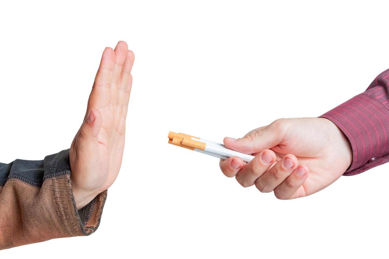 dohányzásellenes vezetés)
