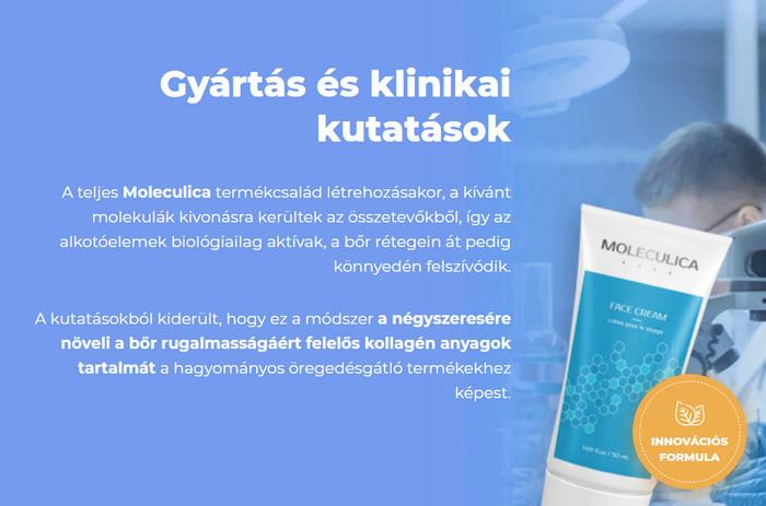 Moleculica Magyarország, ára, eredmények, használata..